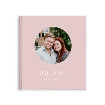 Álbum de fotos personalizado - Você e eu