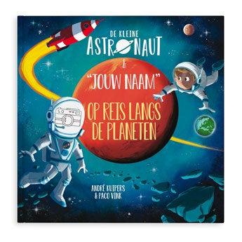 De kleine astronaut en naam boek