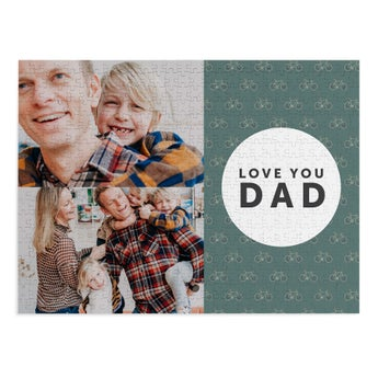 Personalised jigsaw puzzle - Father's Day - 500 pcs