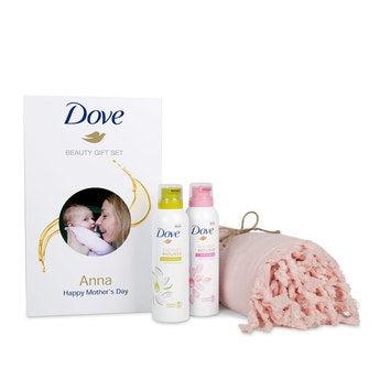 Dove gave sett - hammam håndkle