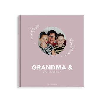 Fotoalbum til bestemor