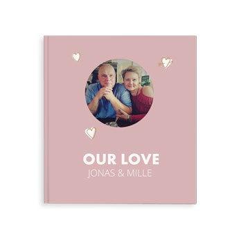 Fotobog med minder - Vores kærlighed