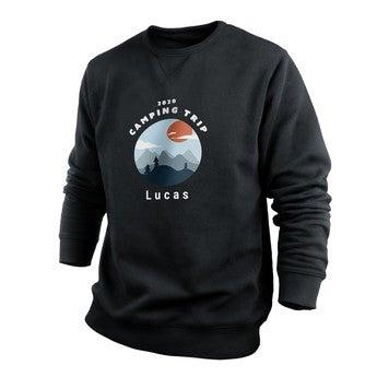 Egyéni pulóver - Férfi - Fekete - S