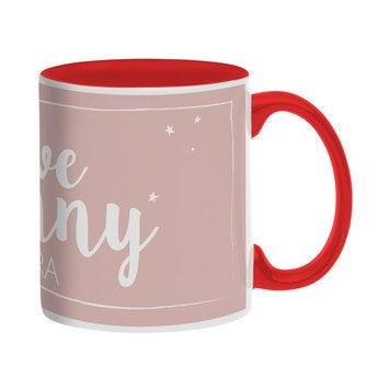Name mug - Red