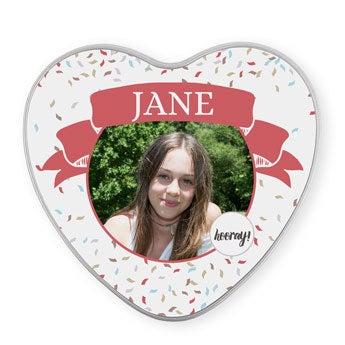 Gave tin - Heart