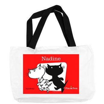 Pim & Pom - Plážová taška