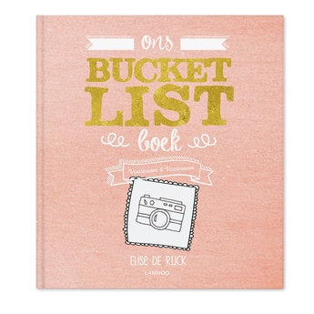 Het Bucketlist boek voor koppels - SC