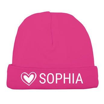 Baba kalap - rózsaszín