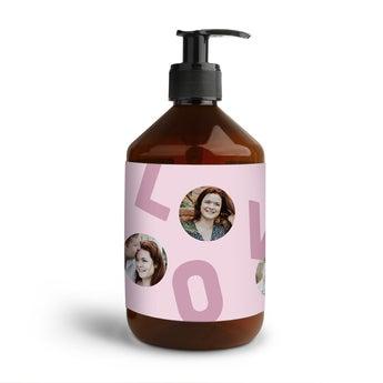 Sabonete de mão personalizado