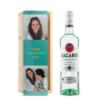 Bacardi Branco - em caixa personalizada