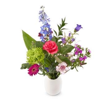 Bouquet de fleurs naturelles