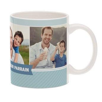 Mug avec photo - Parrain