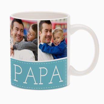 Father's Day mug with photo