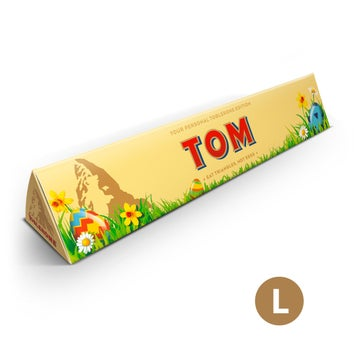 Personalised Toblerone - Easter