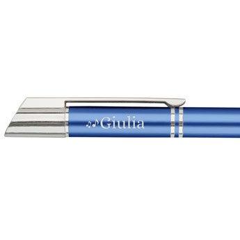 Viva Pens - Penna a sfera Tess - Blu (mancino)