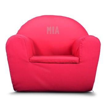 Kinderfauteuil - Roze