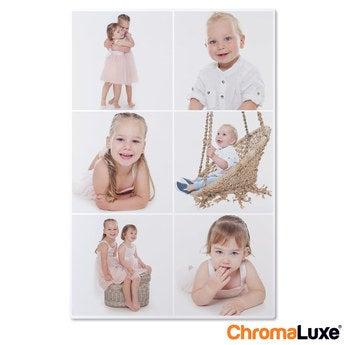 Chromaluxe Aluminium foto - Hvid - 50x75 cm