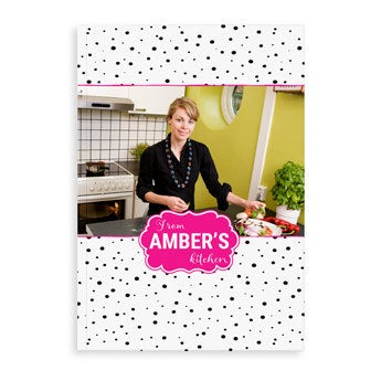 Personalised recipe book - A4 - Softcover