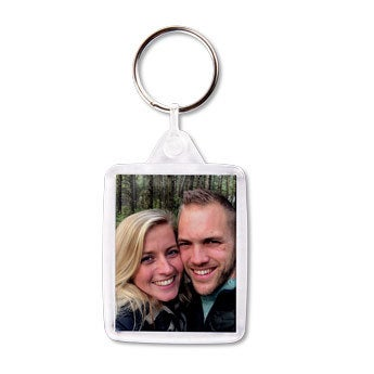 Acyrlic photo keychain - double-sided (set of 100)