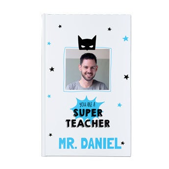 Lærers notesbog - Hårdt omslag