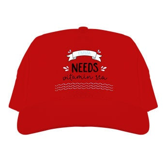 Baseball cap - Rood