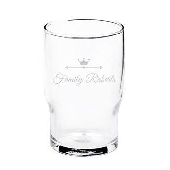 Vandglas (1 stk)
