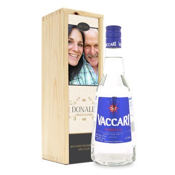Sambuca Vaccari en caja personalizada