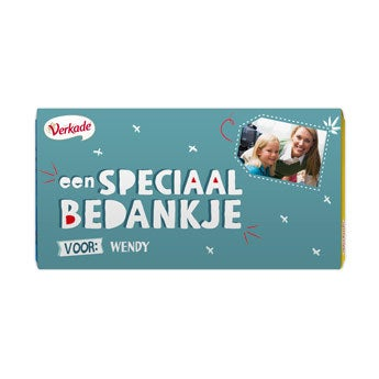 Verkade chocoladereep - All you need (Melk)
