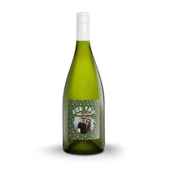 Vino con etiqueta personalizada - Yalumba Organic Chardonnay