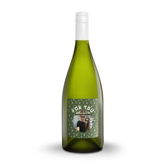 Yalumba Organic Chardonnay - With personalised label