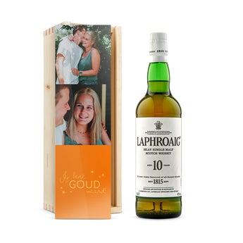 Laphroaig whisky - In bedrukte kist