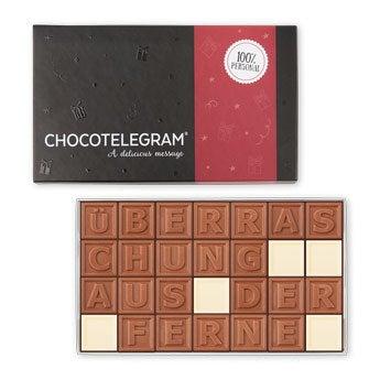 Chocotelegram - 4x7 Buchstaben