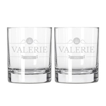 Whiskey glass - 2 pieces