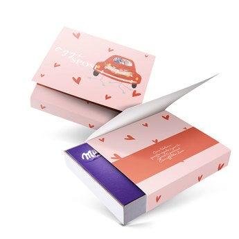 Confezione regalo Milka - Ti penso (220 grammi)