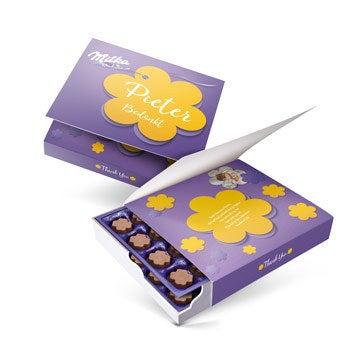 Say it with Milka giftbox - Bedankt (220 gram)