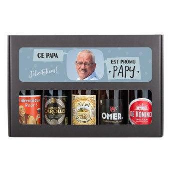 Coffret à bières papi - Belge