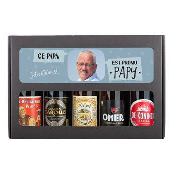 Coffret à bières papy - Belge
