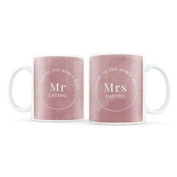 Lot de mugs personnalisés - Saint Valentin