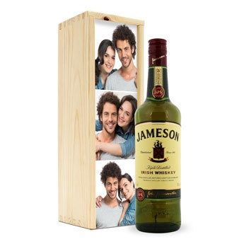 Jameson whisky - In bedrukte kist