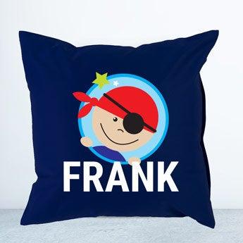 Navy children's cushion