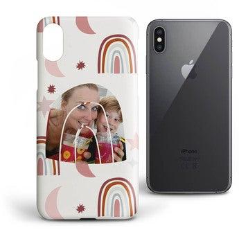 iPhone XS -etui – Heldækkende print