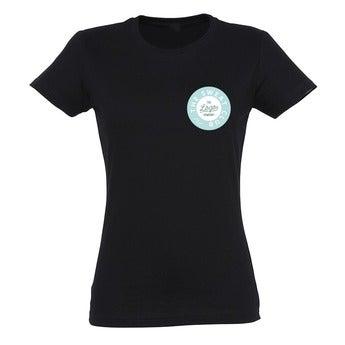 T-Shirt Damen - Schwarz - L