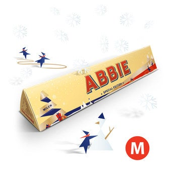Christmas Toblerone bar - 200 grams