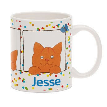 Dikkie Dik mug with name