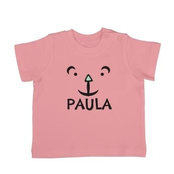 Baby T-Shirt - Kurzam - Babyrosa - 50/56