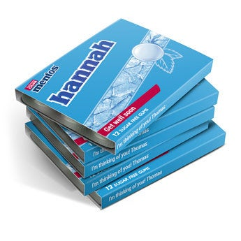 Mentos chewing gum - 24 packs