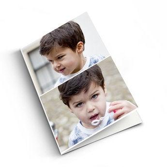 Tarjeta de felicitación con foto