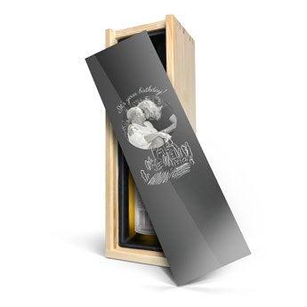 Mainzer Domherr Spätlese - Caja personalizada