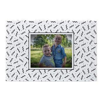 Cobertor de foto de lã - 140x95cm