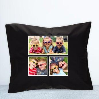 Cushion case - Black - 50 x 60 cm